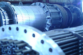 Heat Exchangers being Manufactured
